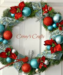 Christmas Decorations Baby Blue by 89 Best Christmas Red U0026 Turquoise Theme Images On Pinterest