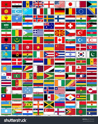 flags countries vector drawing stock vector 691151218 shutterstock