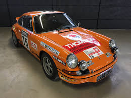 vintage orange porsche bthinx magazine and marketplace for classic and racing cars