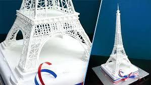eiffel tower favors cake topper eiffel tower 6 metal replica baby shower wedding