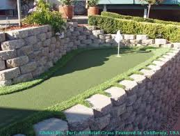 Small Backyard Putting Green Artificial Turf Cost El Paso Texas Putting Green Flags Backyard