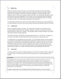 payroll business plan samples new business plan templates