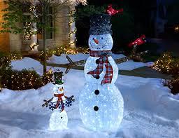 sweetlooking outdoor snowman decorations stunning