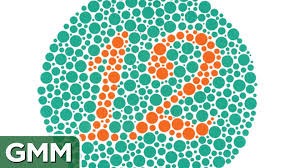 Color Blind Design Color Blind Game 224 Coloring Page