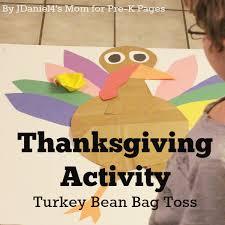turkey beanbag toss pre k pages