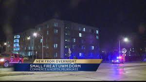Uw Milwaukee Map Fire Breaks Out In Uw Milwaukee Dorm