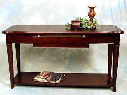 Narrow Sofa Table Sofa Back Table Sofa Table New Hazelnut Narrow Sofa Console