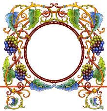 ornament grapes the artworks cherepanova margarita artists