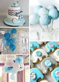 baby shower theme for boy baby shower decorations boy elephant 4391