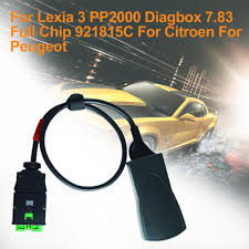 Lexia3 Pp2000 Obd Psa Xs by Diagnose For Lexia 3 Pp2000 Diagbox 7 83 Full Chip 921815c For