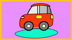 learn colors car color car coloring tutorial