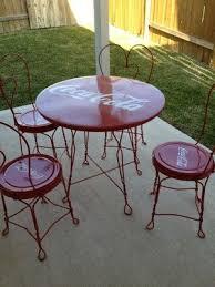 coca cola table and chairs coca cola table set ebay coca cola pinterest coca cola cola