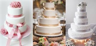 wedding cake sederhana inspirasi kue pernikahan yang indah stacie bridal
