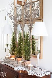 Home Decorating Ideas For Christmas Christmas Decorating In My Foyer In My Own Style