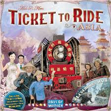 America Rides Maps by Your Guide To Ticket To Ride Part 5 Ticket To Ride Asia