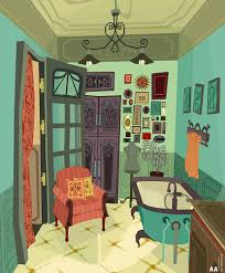 ally albon bathroom