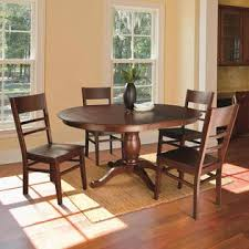 Pedestal Tables And Chairs Jaclyn Smith Pedestal Dining Table