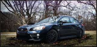 sti subaru 2016 black the rally car with a desk job the pilot magazine