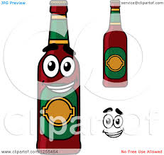 beer bottle cartoon royalty free beer bottle illustrations by vector tradition sm page 1