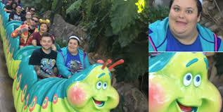 Disneyland Meme - woman looks exactly like a bug s life ride at disneyland