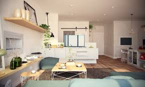 modern 1 bedroom apartments apartments open layout living space organization inspiration 2