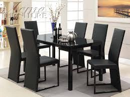 black dining room set best designs fantastic black dining room set glass dining