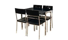 Folding Table With Chair Storage Dining Tables Fascinating Black Extendable Dining Table