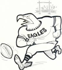 eagles football coloring pages ziho coloring