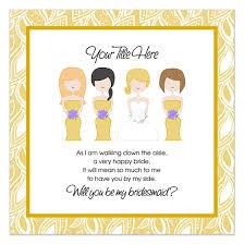 bridesmaid invite bridesmaid invitation templates will you be my bridesmaid std