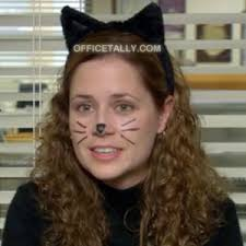Halloween Costume Cat Ears Office Pam Beesly Halloween Costumes U2022 2 5 U2022 Officetally