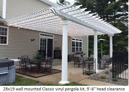 Build A Pergola On A Deck by Pergola Kits Usa Com