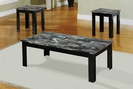 granite top end tables coffee tables ideas set of marble coffee table sets 3 faux oval