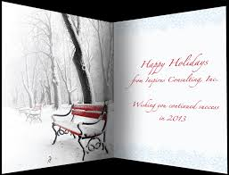 stand out from the crowd by sending your company holiday card early