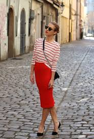 15 ways to wear pencil skirts