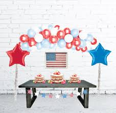 Balloon Arch Decoration Kit 4th Of July Decorations Balloon Arch Balloon Garland Diy Balloon