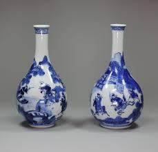 Chinese Blue And White Vase Chinese Kangxi Blue And White Porcelain