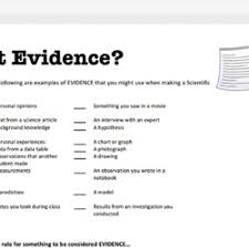 claim evidence reasoning pearltrees