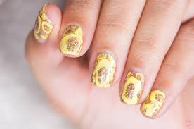 tulips on mint nail design tutorial
