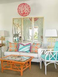 This Fun And Exciting Room Has Red Yellow And Blue Hues These - Living room bright colors
