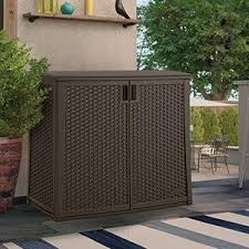 amazon com suncast elements outdoor 40 inch wide cabinet