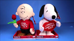 brown valentines valentines day 2016 animatronic snoopy brown dolls figures