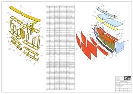 Reception Desk Cad Wood Work Reception Desk Construction Drawings Pdf Plans Arafen