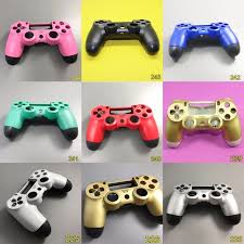 how to change the color of ps4 controller light 5set 12 color housing shell case for ps4 controller ps 4 limited