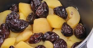 cuisiner les pruneaux pommes aux pruneaux en cocotte ma p tite cuisine