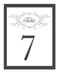 free table number templates free printable wedding table number templates vastuuonminun