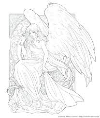 coloring page angel visits joseph coloring page angel story coloring page for angel visits free