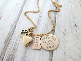 Personalized Memorial Necklace 24 Best Personalized Pet Lover Jewelry Images On Pinterest Dog