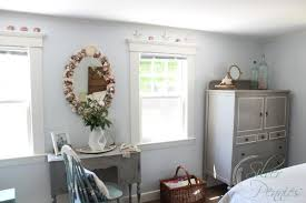 Benjamin Moore Silver Gray Bedroom A Before And After Home Tour Two Years On Finding Silver Pennies