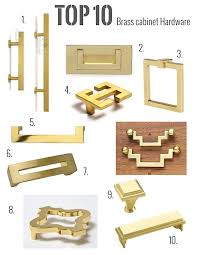 gold brass cabinet hardware my top 10 brass hardware picks live like you marmalade interiors