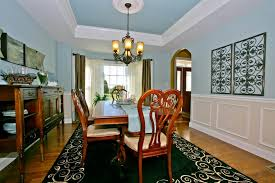 Tray Ceiling Dining Room - dining room portfolio cedar knoll builders lancaster new homes